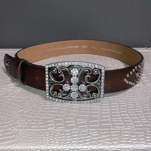 Guess Large Buckle Belt
